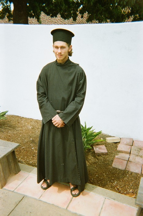 Young Monastic Orthodox Priest